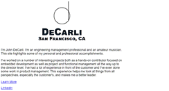 Preview of decarli.net